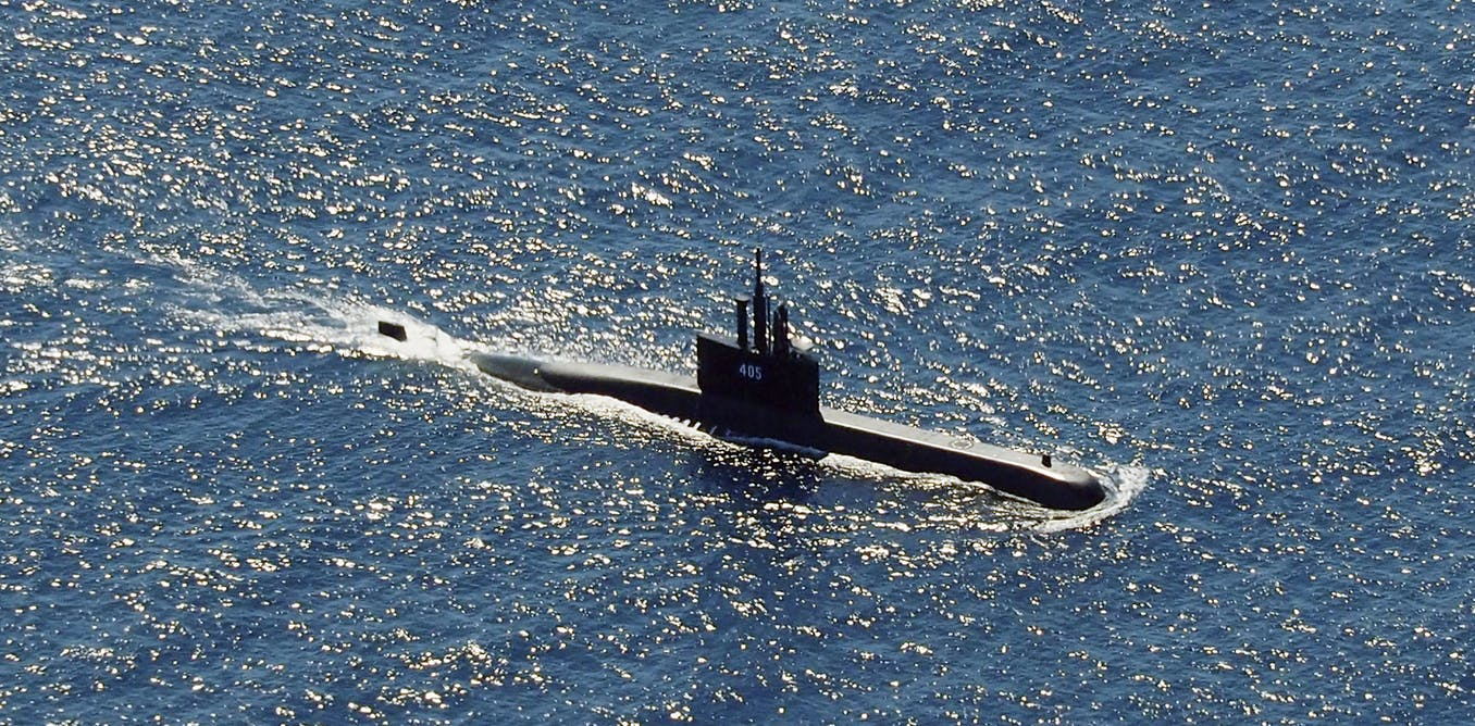 Submarines are designed to hide – so what happens when one goes missing? – The Conversation AU