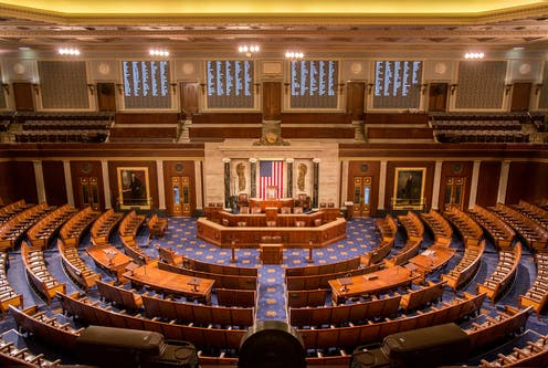 The chamber of the U.S. House of Representatives
