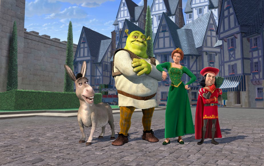 Animated fairy tale characters.
