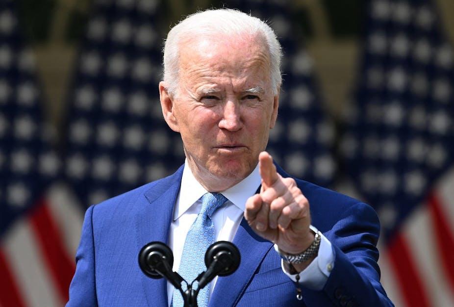 Joe Biden à la Maison-Blanche