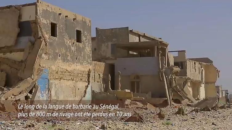 Langue de Barbarie au Sénégal