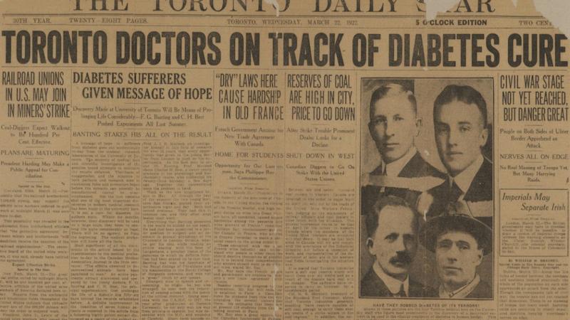 Un siglo de insulina: cuando la diabetes dejó de ser necesariamente mortal