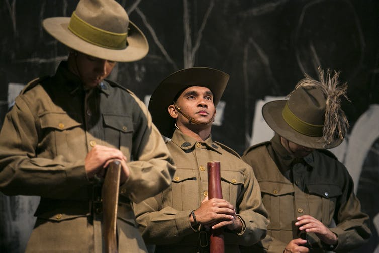 Black Diggers onstage. Photo Credit: Jamie Williams/Sydney Festival