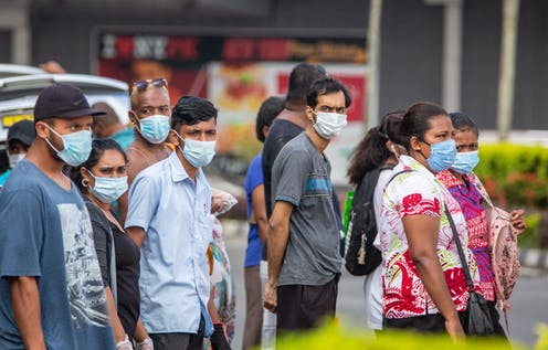 Fiji's capital has gone into lockdown