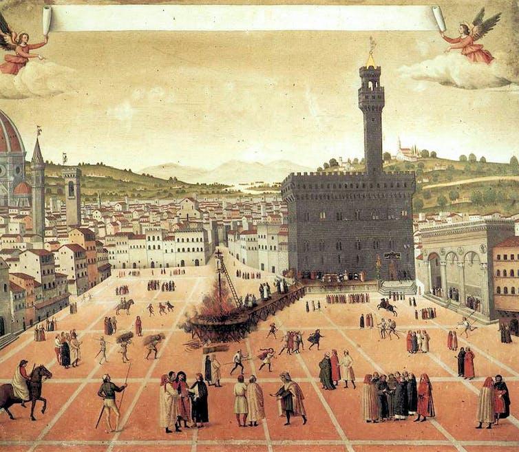 15th century Italian painting