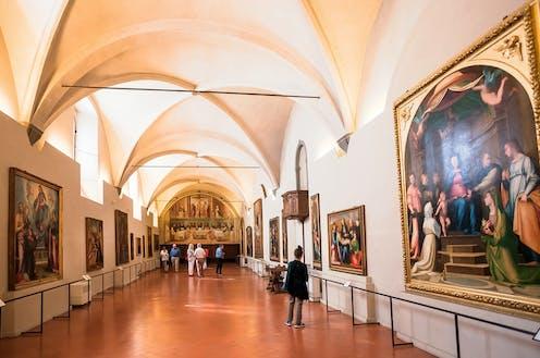 Florentine gallery interior