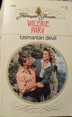 Book cover: Tasmanian Devil