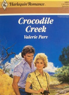 Book cover: Crocodile Creek