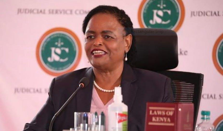 Kenya's Chief Justice-designate Martha Koome