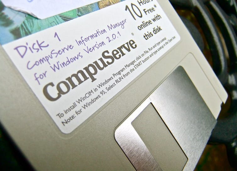 An installation floppy for CompuServe Information Manager
