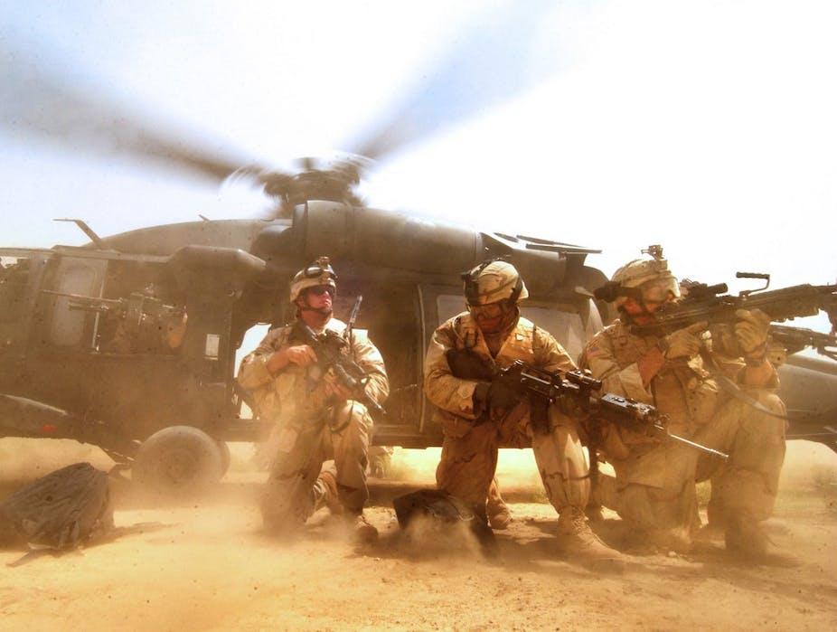 Soldats américains en Irak en 2005