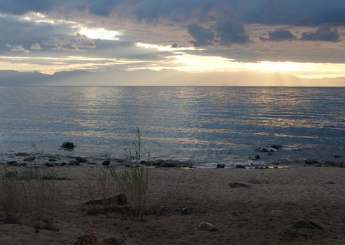 sunrise over Lake Malawi