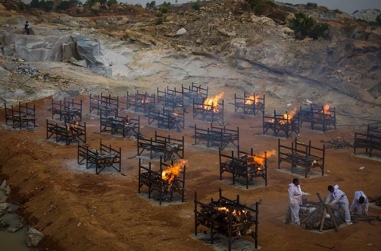 mass cremation