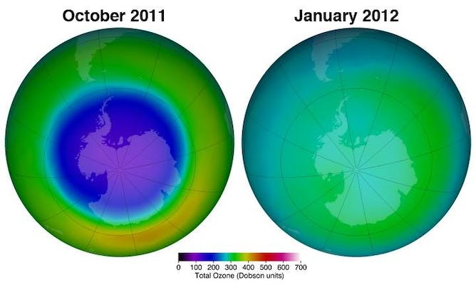 cease in cfc emissions may allow ozone layer to recover The recovery of the ozone layer  21st century in response to much reduced emissions of ozone depleting substances  that recovery of the ozone layer may not be .
