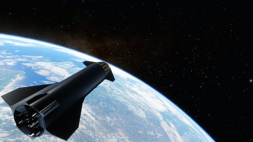 SpaceX concept of Starship.