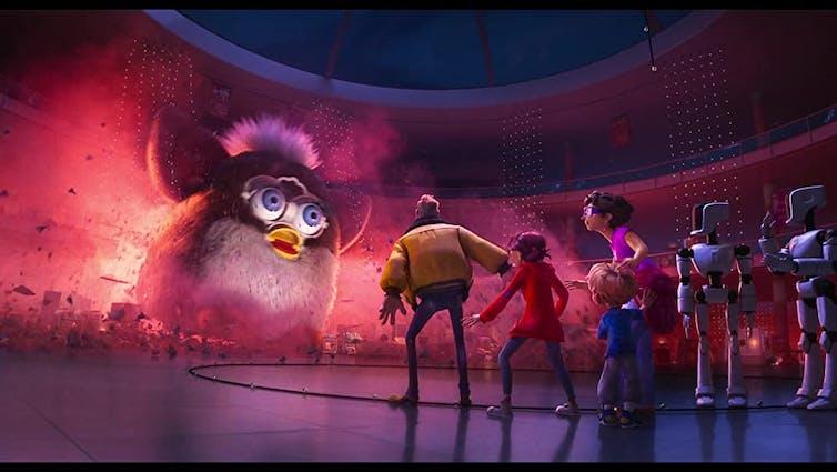 Animated film still