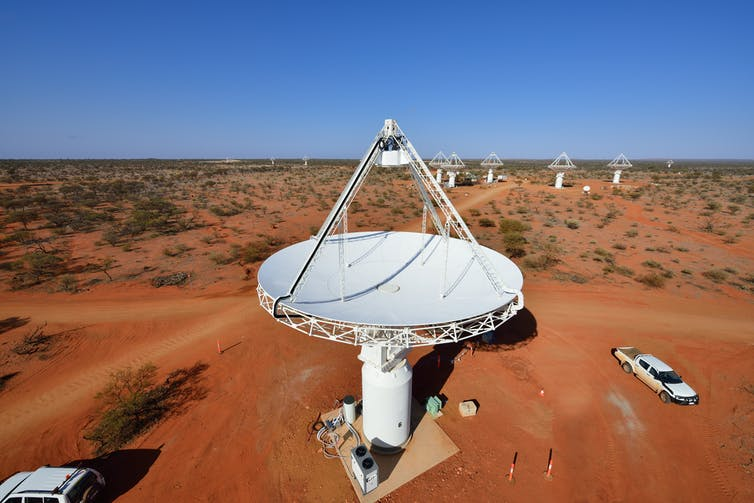 SKA Pathfinder telescope
