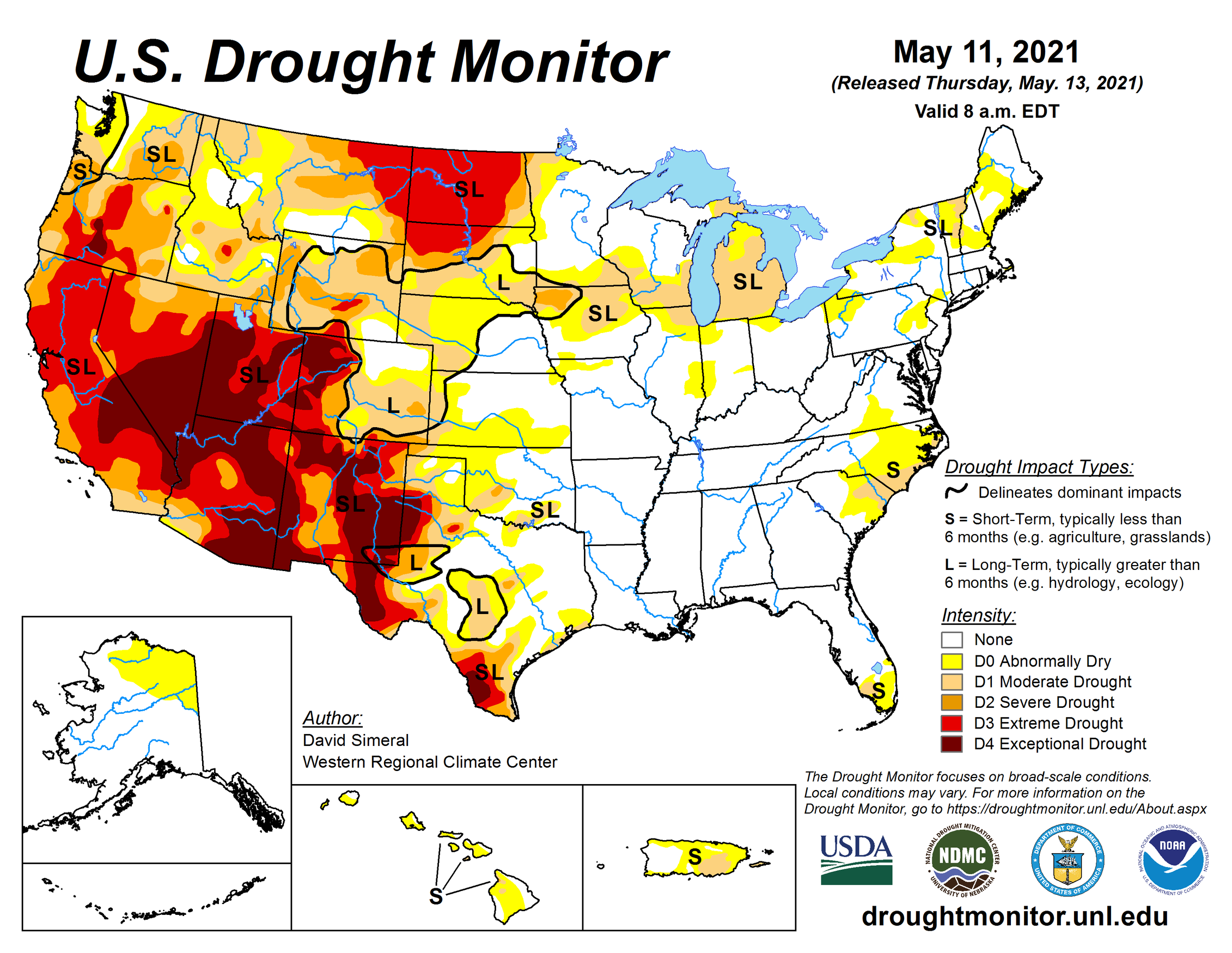 A dangerous fire season looms as the drought-stricken Western US heads for a water crisis