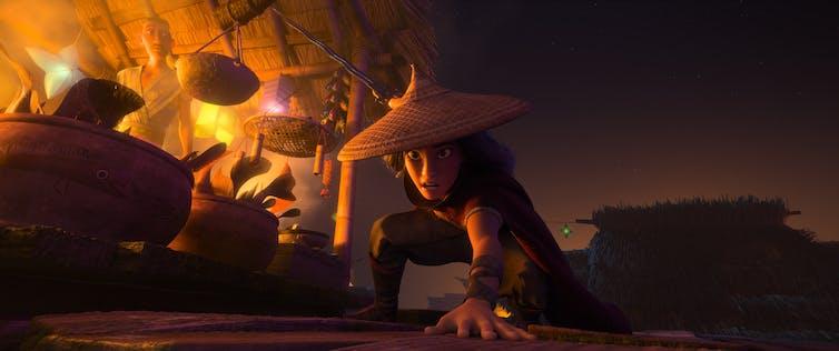 Disney warrior Raya