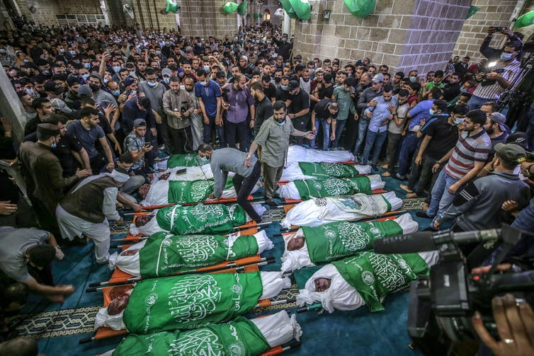 A funeral in Gaza