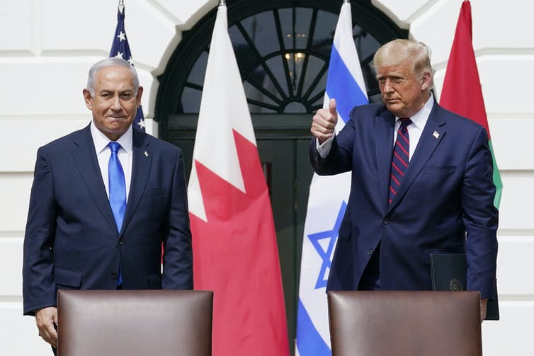 Trump's peace plan was dismissed by the Palestinians.
