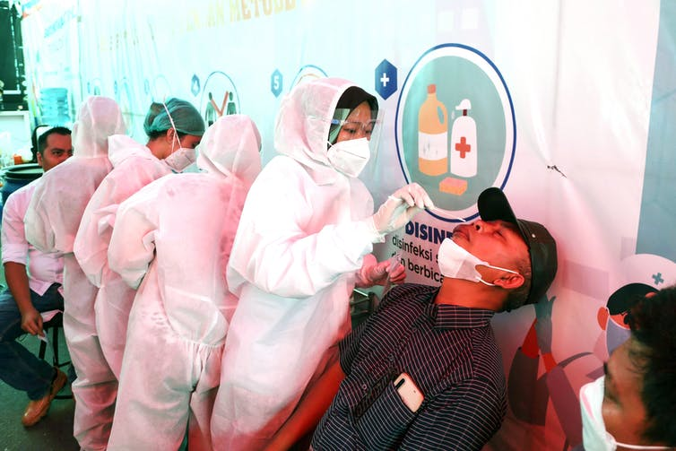 Indonesia's vaccine rollout has been slow.
