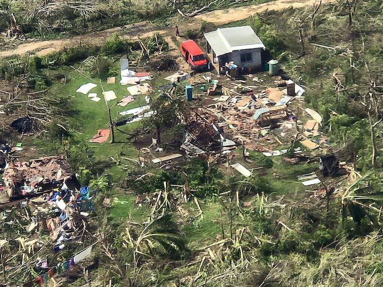 Vanuatu is still rebuilding after last year's cyclone.
