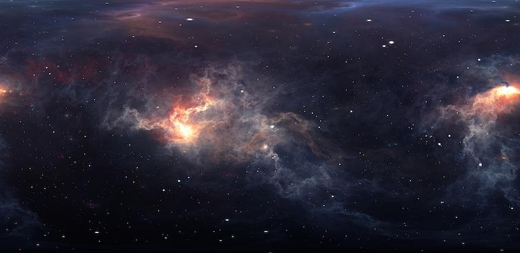 The dust of interstellar space.