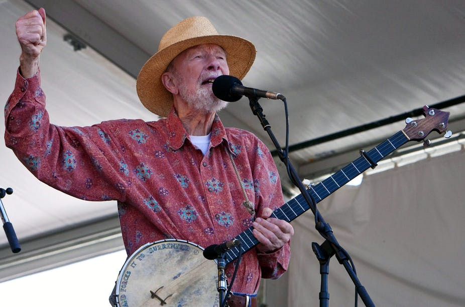 Pete Seeger: a life of song, and the power of 'we'