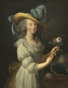 Painting of French queen