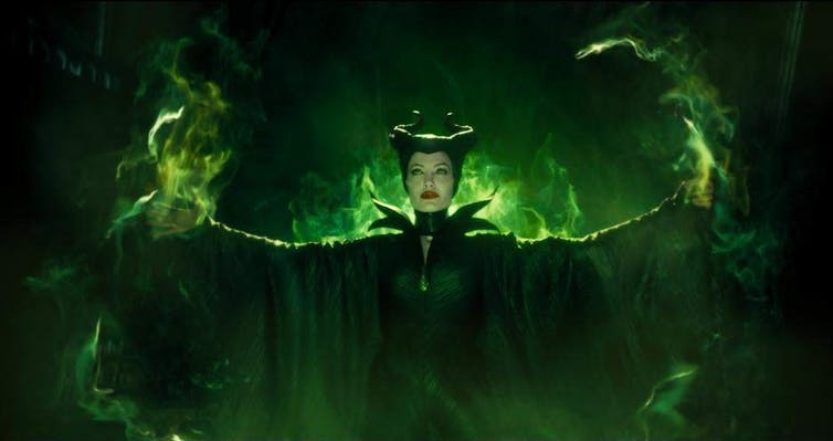 Maleficent production image.