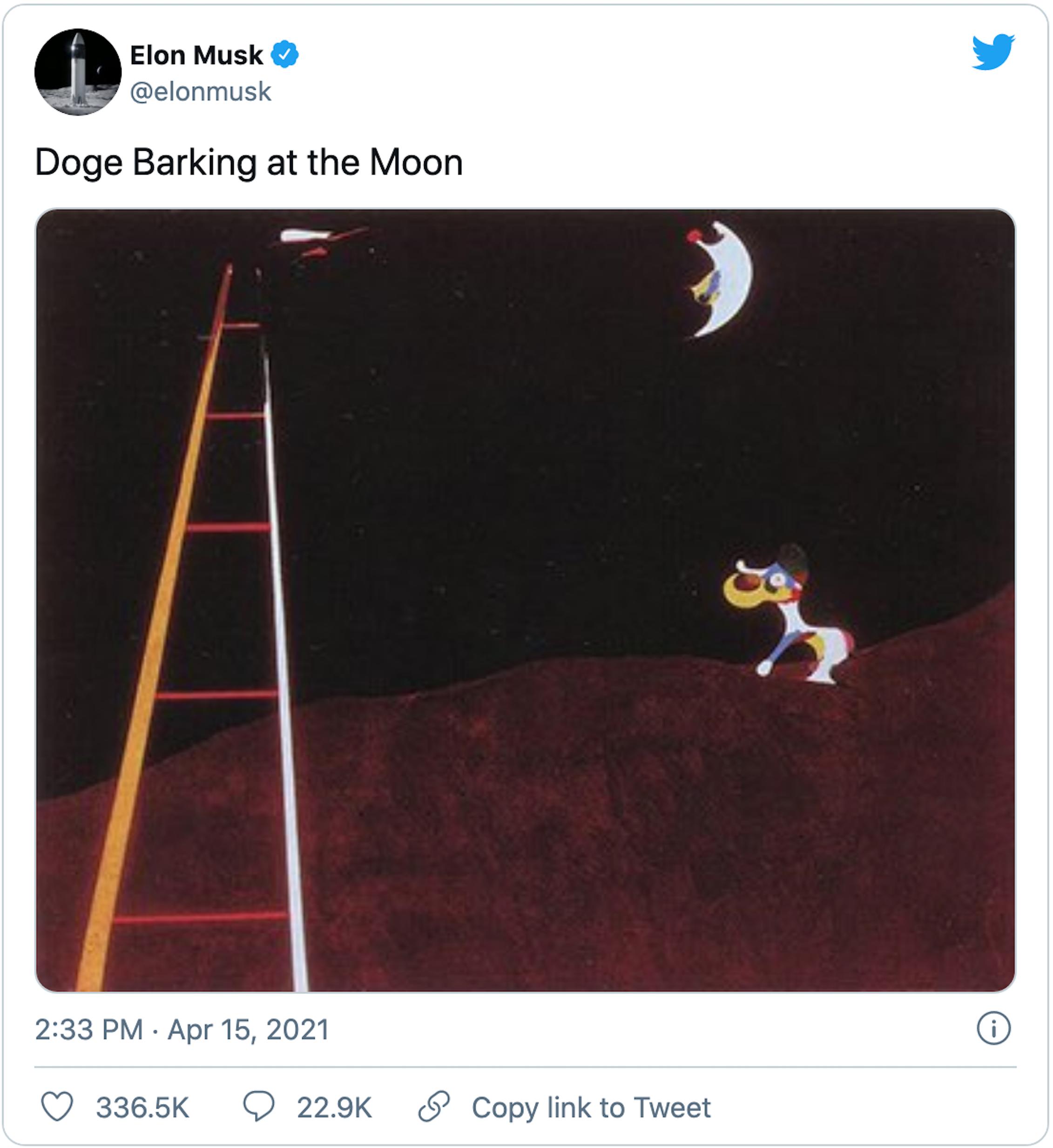Elon Musk's social media posts move markets.