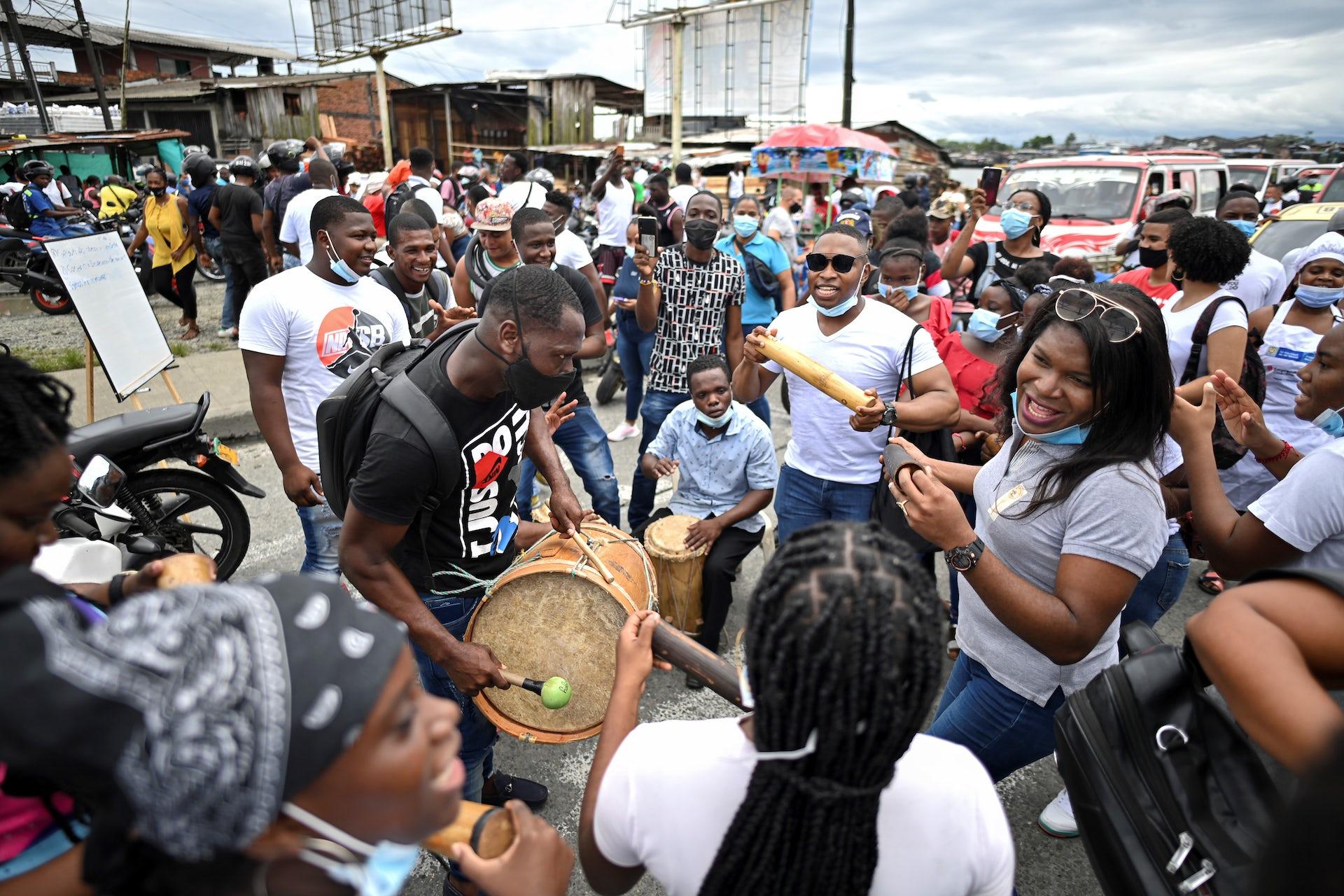 Colombian City Beset by Crime Declares 'Black Lives Matter'