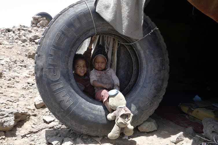Yemenis in need of humanitarian assistance.