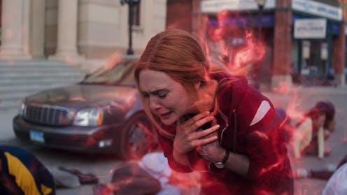 Elizabeth Olson as Wanda Maximoff in 'WandaVision'