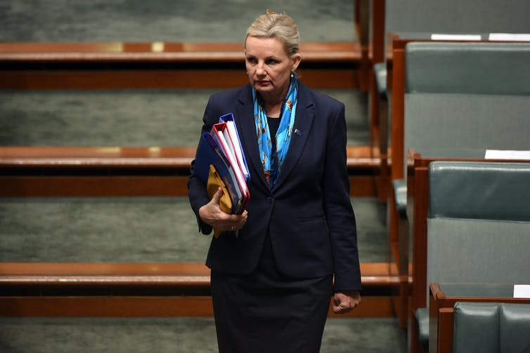 Sussan Ley in Question Time
