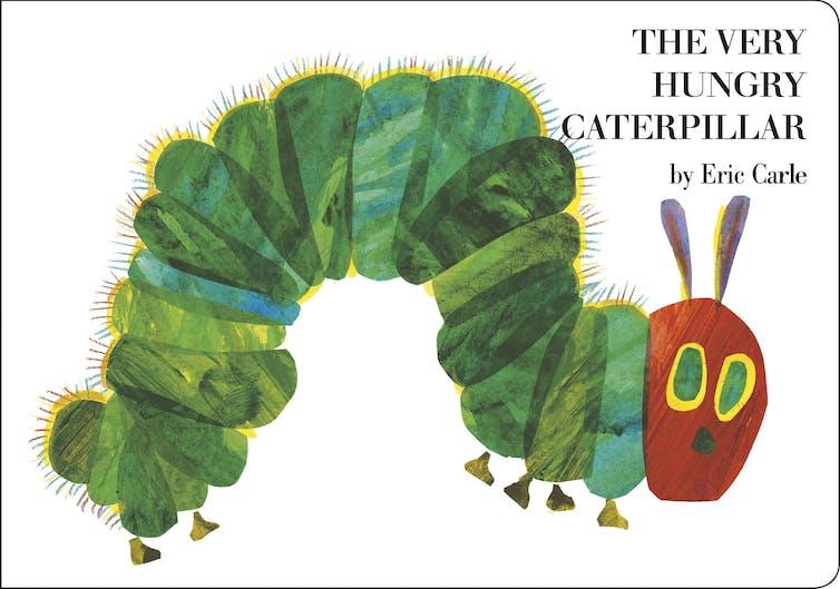 book cover: caterpillar