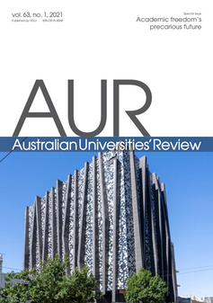 cover of Australian Universities' Review