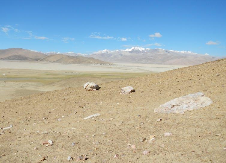 Su-re site at Tibetan Plateau