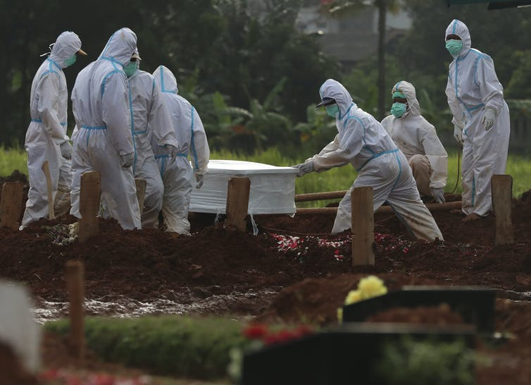 Indonesia's COVID deaths surged in January