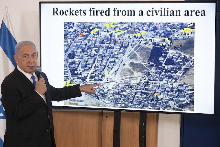 Netanyahu briefs ambassadors on the recent Gaza conflict.