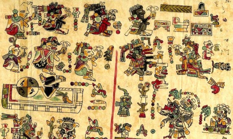Una representación de la vida mixteca