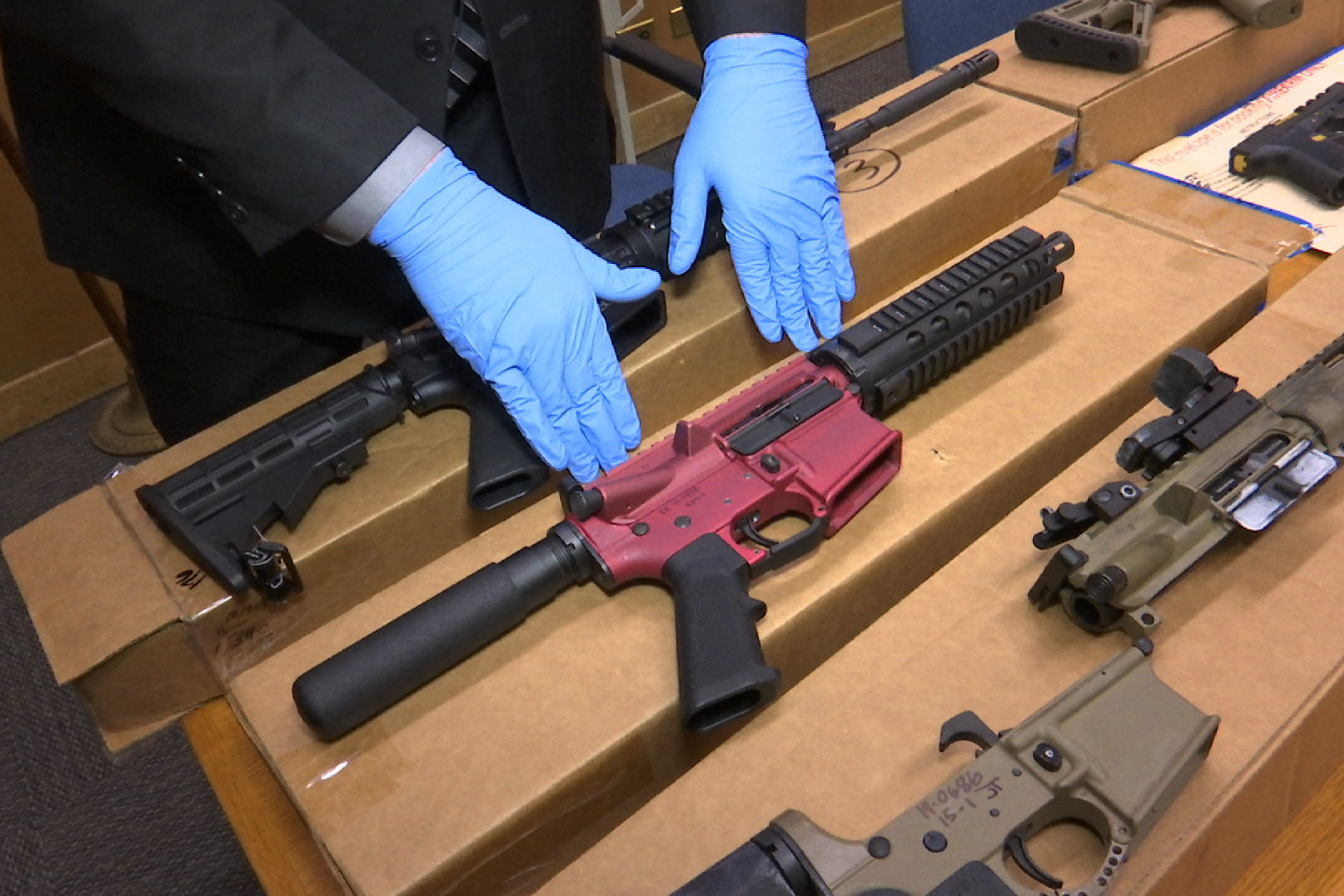 What Are 'Ghost Guns,' a Target of Biden's Anti-Crime Effort?
