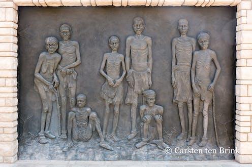 Mémorial du génocide, à Windhoek.