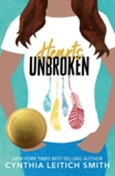 The cover art for the book 'Hearts Unbroken'.
