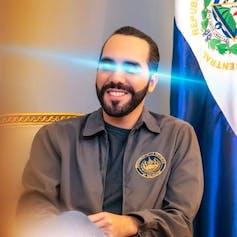 Nayib Bukele's Twitter profile image.