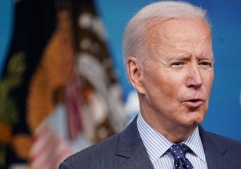 President Joe Biden, from the shoulders up