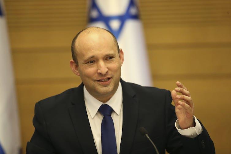 Israel's new prime minister Naftali Bennett.
