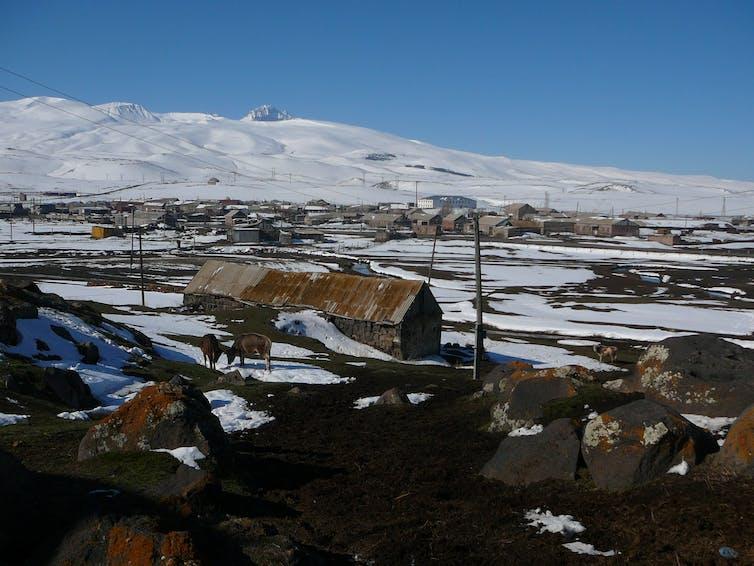 Village de Rya Taze, Arménie. Estelle Amy de la Bretèque, Fourni par l'auteur