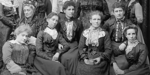 A group of 19th century Scotswomen who lived in colonial India